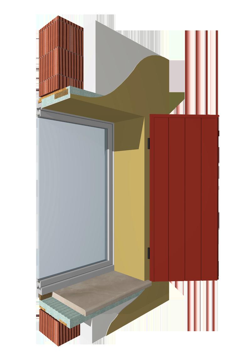 Home sistemi monoblocco coibentati per finestre tapparelle - Aprire finestra muro esterno ...