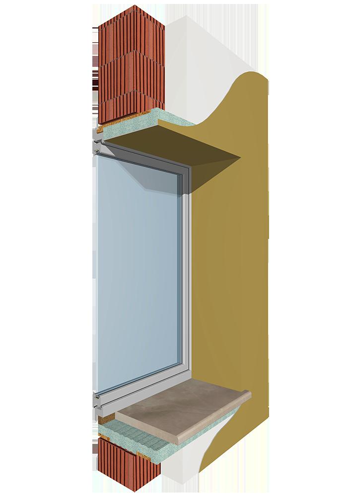 Mod base1 sistemi monoblocco coibentati per finestre tapparelle balconi - Finestre monoblocco in legno ...